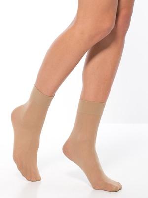 Mi-chaussettes 40 deniers lot 7 paires