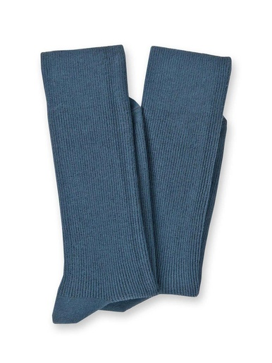 Mi-chaussettes coton lot de 2 paires - Lingerelle - Marine