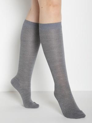 2 paires de mi-bas jambes sensibles