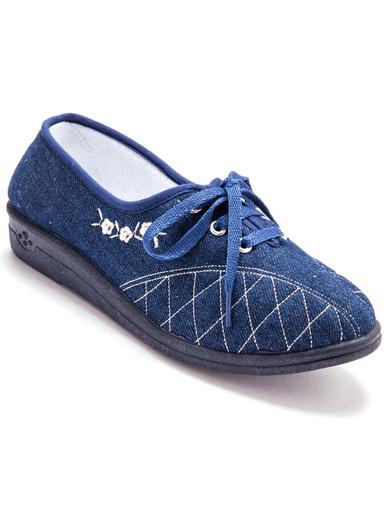 Derbies ultra-souples - Charmance - Bleu jean