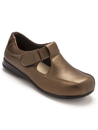 Salomés ultra larges pieds sensibles - Pédiconfort - Marron
