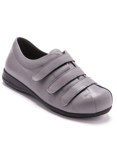 Derbies ultra larges pieds sensibles - Pédiconfort - Gris