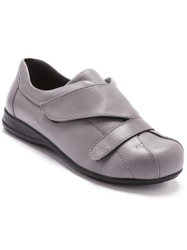 Derbies à scratch pieds sensibles - Pédiconfort - Gris