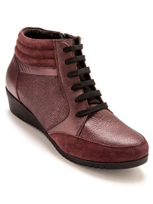 Sneakers cuir zippés à aérosemelle®