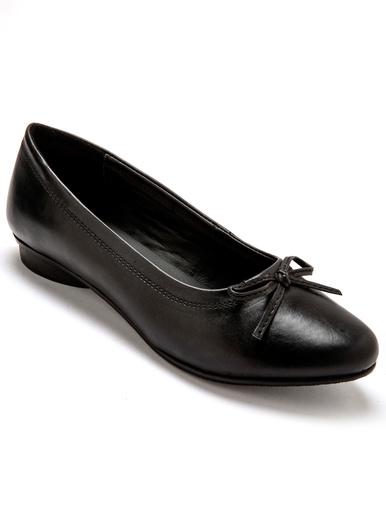 Ballerines classiques largeur confort - Pédiconfort - Noir