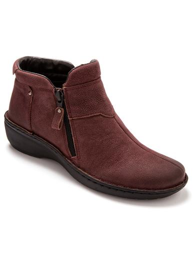 Boots ultra légères à semelle amovible - Pédiconfort - Bordeaux