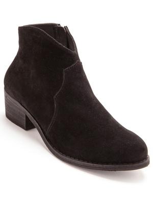 Boots zippées