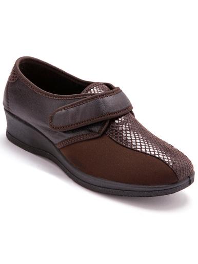 Derbies extensible pieds sensibles - Pédiconfort - Marron
