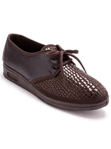Derbies extensibles pieds sensibles - Pédiconfort - Marron