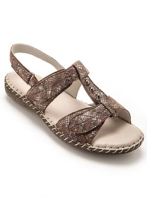 Sandales ultra souples en cuir