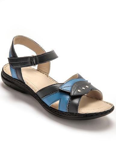 Sandales à ouverture totale - Pédiconfort - Bleu/marine
