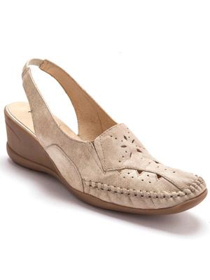 Sandales ajourées talon 5cm