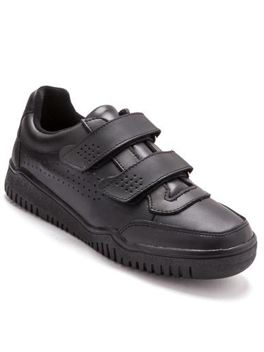 Chaussures de détente cuir - Pédiconfort - Noir