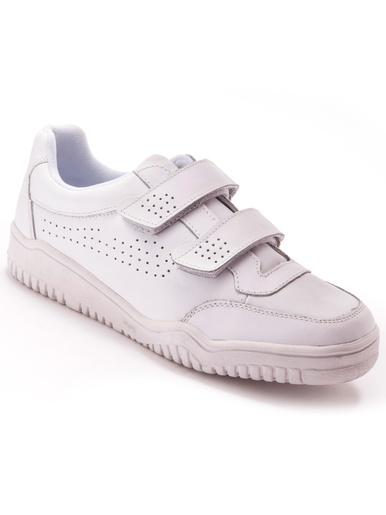 Chaussures de détente cuir - Pédiconfort - Blanc