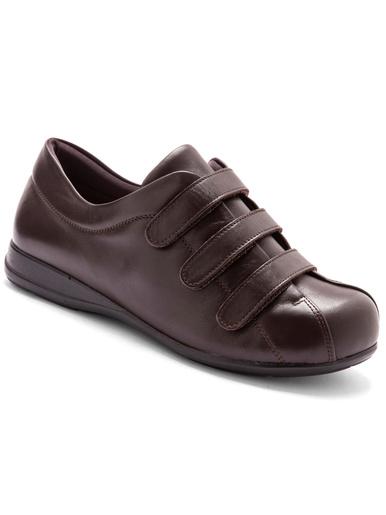 Derbies ultra larges pieds sensibles - Pédiconfort - Marron