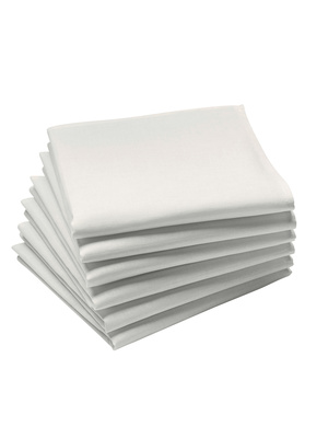 Lot de 6 serviettes de table