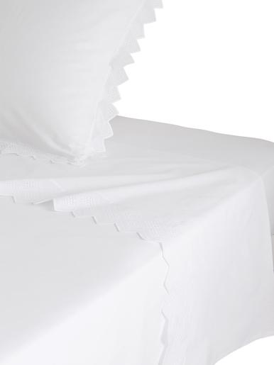 Drap Opéra, pur coton - Origin - Blanc