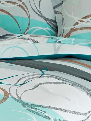 Drap plat spirales - Becquet - Motifs spirales