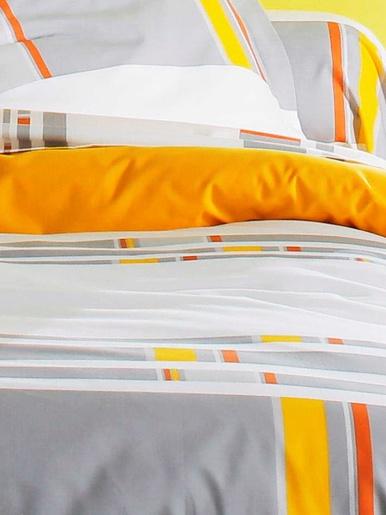 Drap-housse zeste - Becquet - Gris jaune