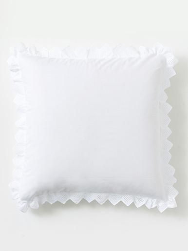 Taie d'oreiller Opéra, pur coton - Origin - Blanc