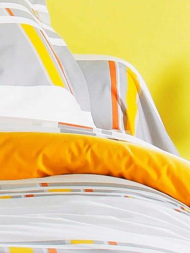 Taie de traversin zeste - Becquet - Gris jaune