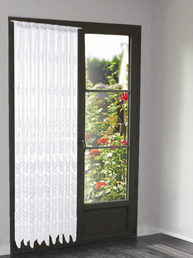 Panneau modulable dentelle motif roses - Carré d'azur -