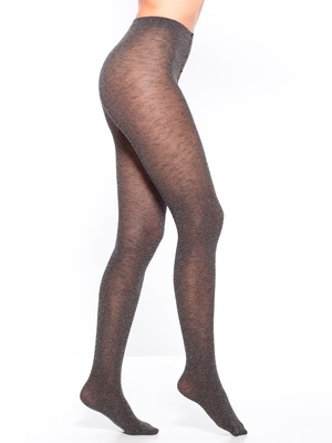 Collants chinés opaques, lot de 2