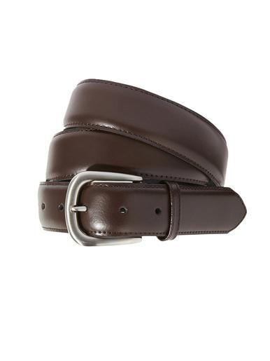 Ceinturon réglable cuir accessoire - Honcelac - Marron