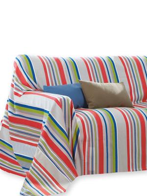 Jeté de canapé pur coton