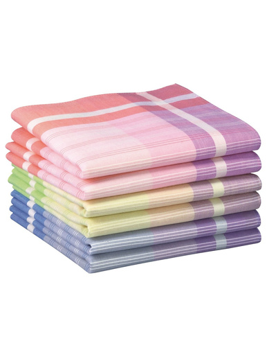 Mouchoirs pur coton lot de 6