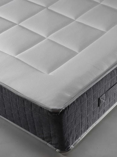 Surmatelas mémoire de forme épaiss 3cm - Carré d'azur - Blanc