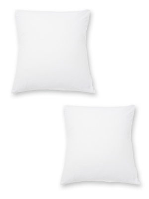 Sous-taies lot de 2 pur coton