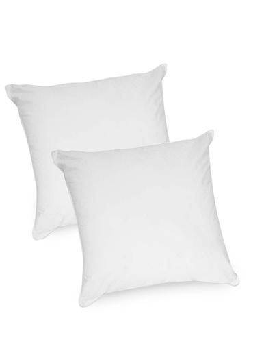 Lot de 2 oreillers microfibre - La compagnie Dumas - Blanc