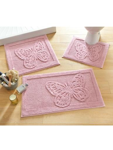 Tapis de bain Papillon - Becquet - Violet lilas