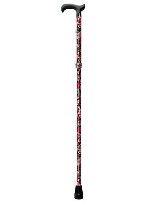Canne de marche pliante fleurie
