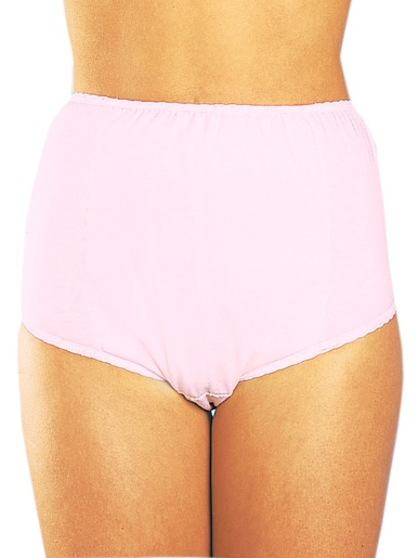 Culottes incontinence pur coton lot de 2 -  - Rose et bleu