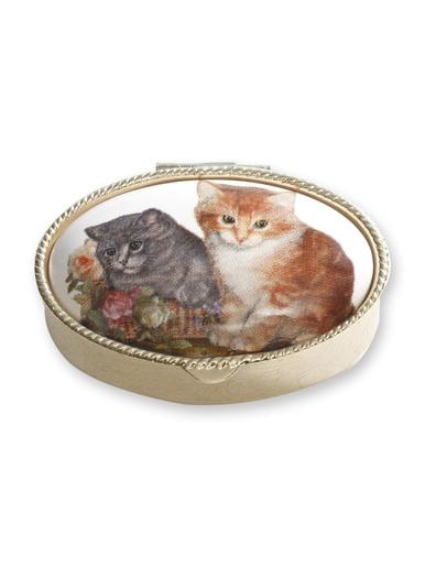 Boîte à pilules -  - Décor chatons