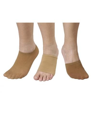 Couvre-pieds, lot de 3 paires -  - Chair