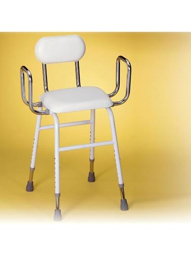 Chaise réglable -  - Blanc