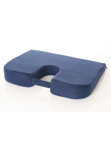 Coussin ergonomique lombaires et coccyx -  - Bleu