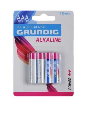Lot de 4 piles alcalines AAA/LR03