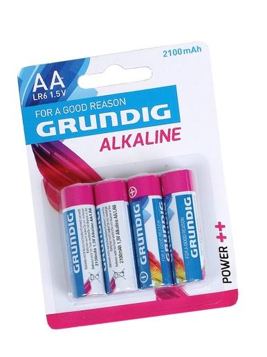 Lot de 4 piles alcalines AA/LR06 -  -