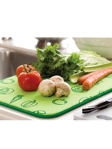 Tapis égouttoir pour fruits et légumes -  - Vert