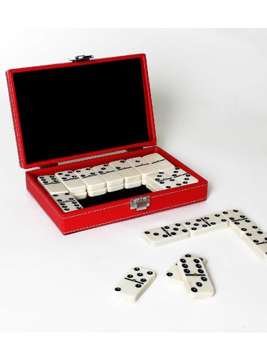 Jeu de dominos, coffret luxe