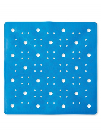 Tapis de douche antiglisse -  - Bleu
