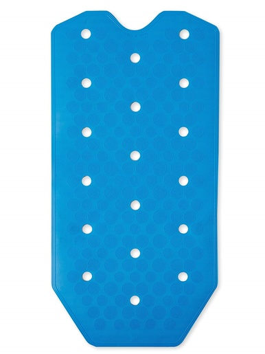Tapis de baignoire antiglisse -  - Bleu
