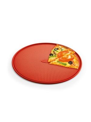 Plaque à pizza perforée, renforcée