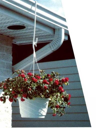 Lot de 2 crochets pour jardinières - Casâme - Blanc