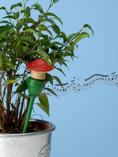 Avertisseur manque d'eau pour plante - Casâme - Rouge + blanc + vert