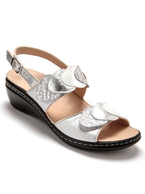Sandales à ouverture totale